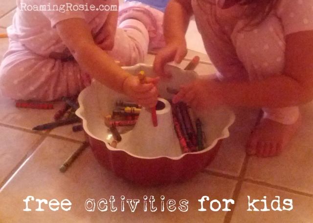 free activities for kids developing fine motor skills with crayons