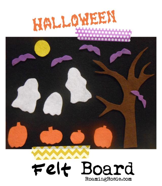 DIY Halloween Felt Board