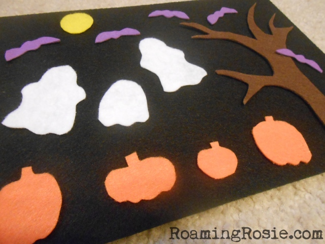 DIY Halloween Felt Board