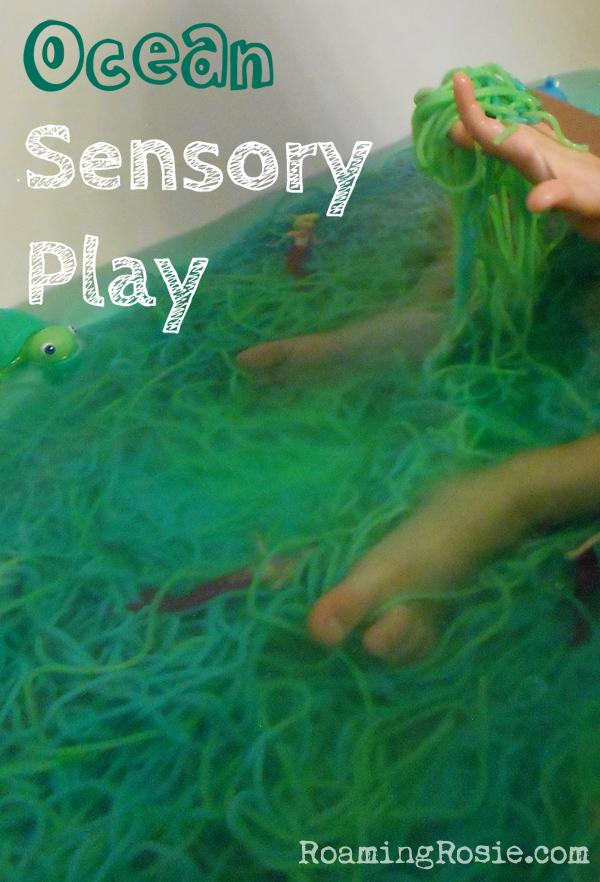 ocean sensory play bath