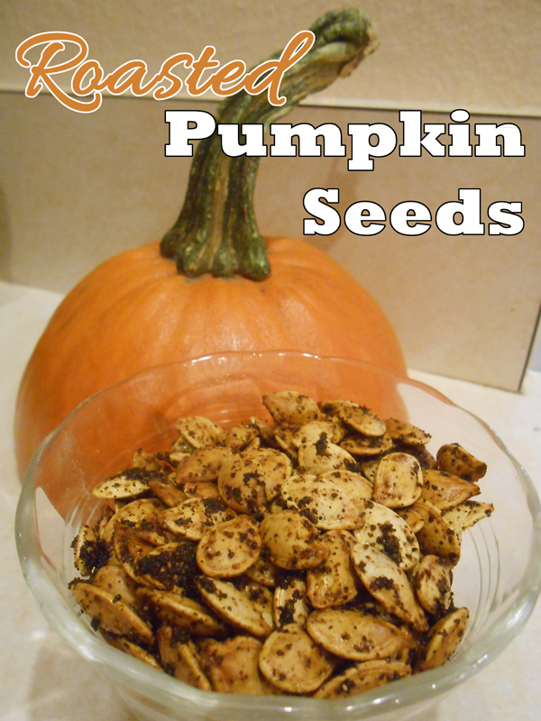It's been years since I've made roasted pumpkin seeds, but I ...