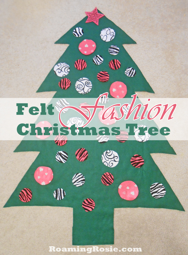 Felt Fashion Christmas Tree