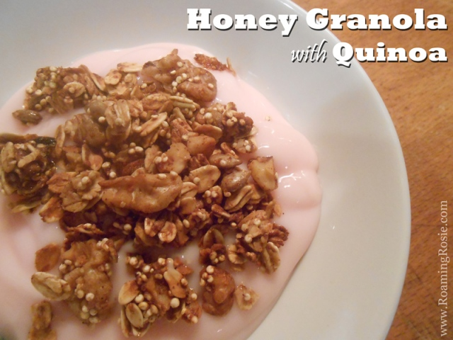 Honey Granola with Quinoa