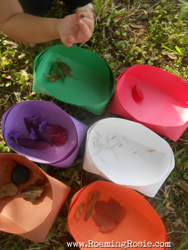 Our Colorful Backyard:  Color Matching Activity for Kids