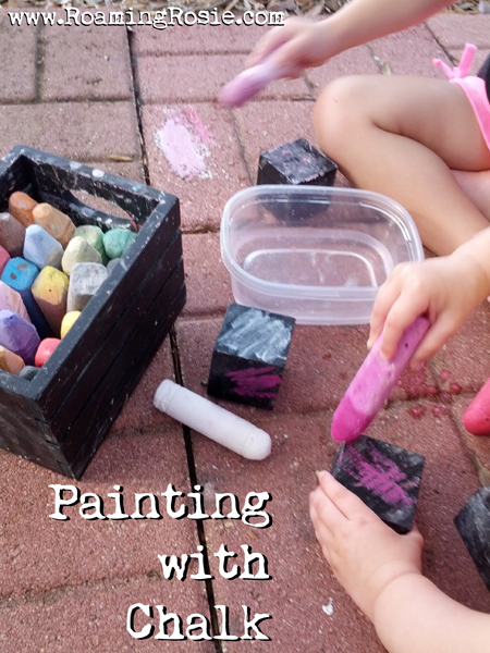 Painting with Chalk 1