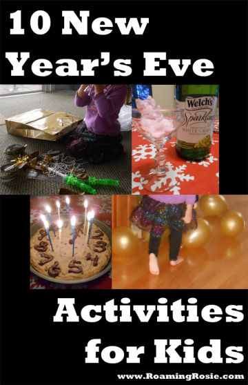 10 New Years Eve Activities for Kids