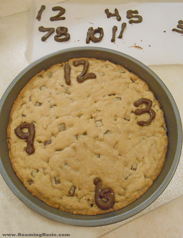 New Year's Eve Cookie Clock