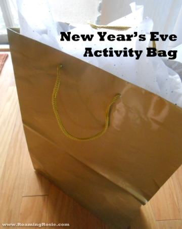 New Year's Eve Activity Bag