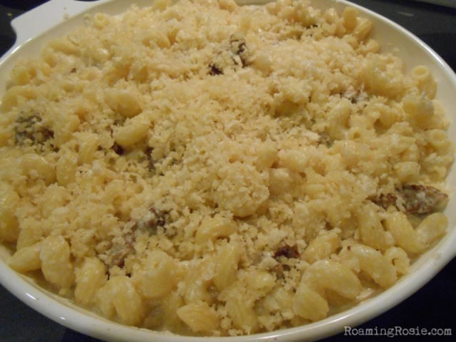 Sausage and Gouda Mac and Cheese