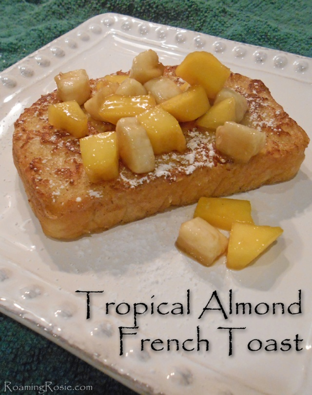 Tropical Almond French Toast Recipe