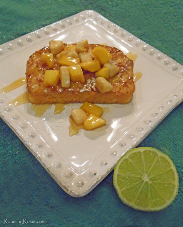 Tropical Almond French Toast