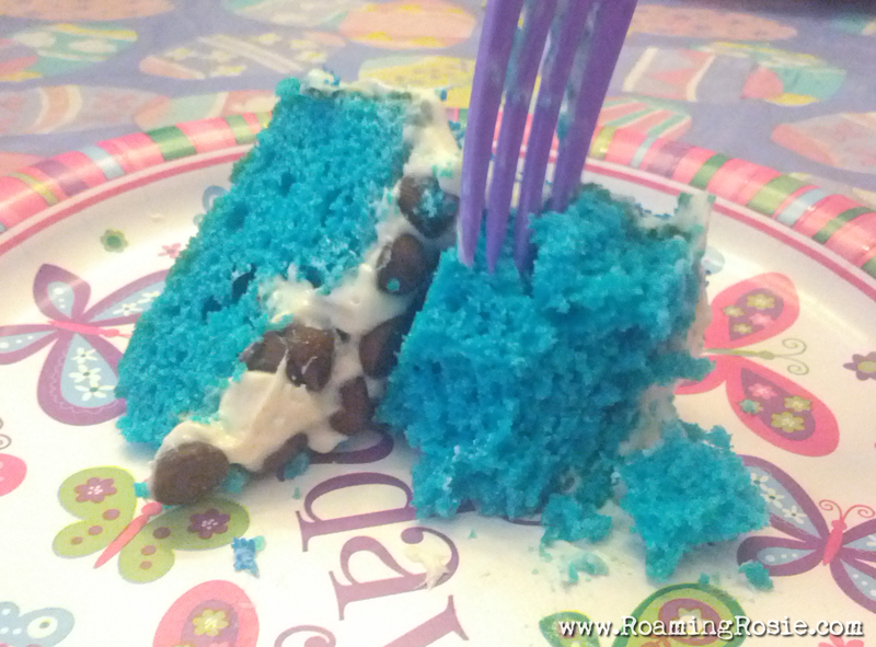 Layer Cake with Chocolate Chip Filling