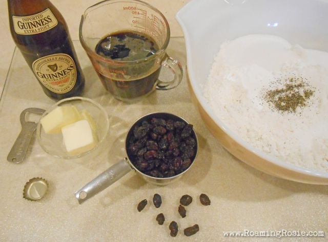 Mini Irish Soda Bread with Guinness Recipe