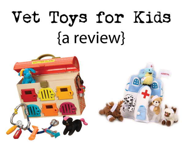 Vet Toys for Kids {a review}