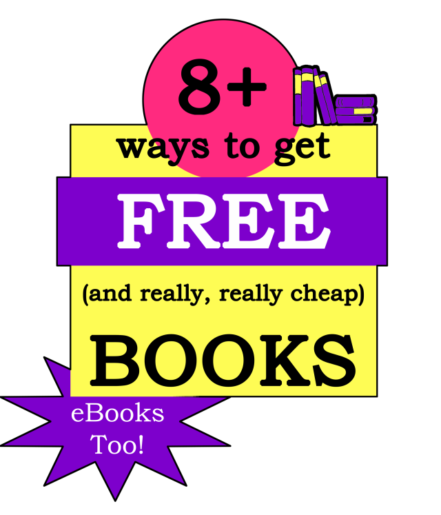 8 Ways to get FREE and really cheap books