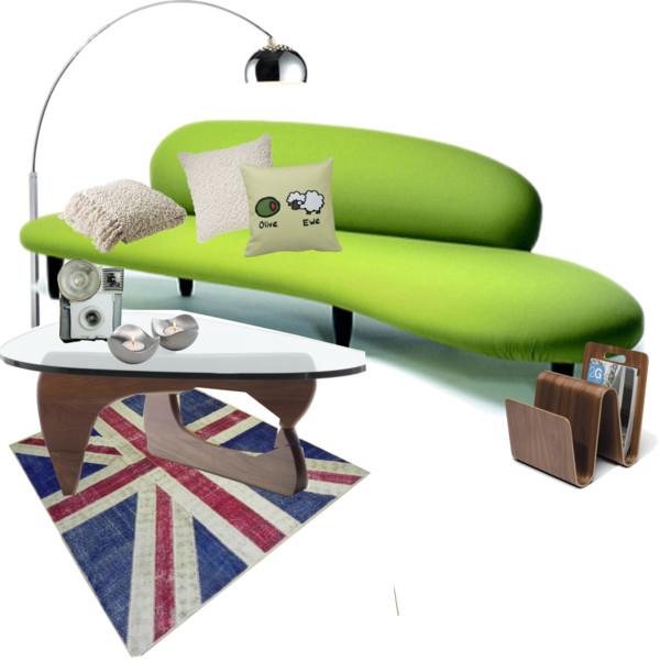olive ewe living room