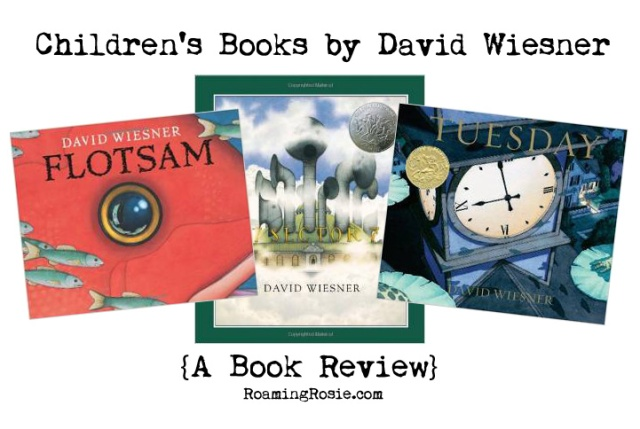 Children's Picture Books by David Wiesner {a book review}