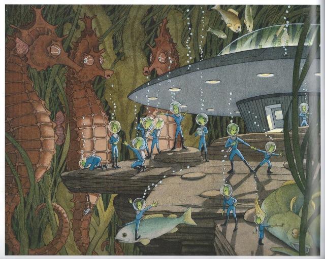 Children's Picture Books by David Wiesner:  Flotsam