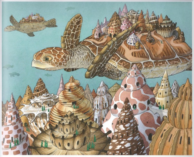 Children's Picture Books by David Wiesner:  Flotsam