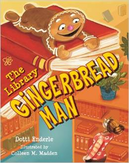 The Library Gingerbread Man by Dotti Enderle {Book Review}