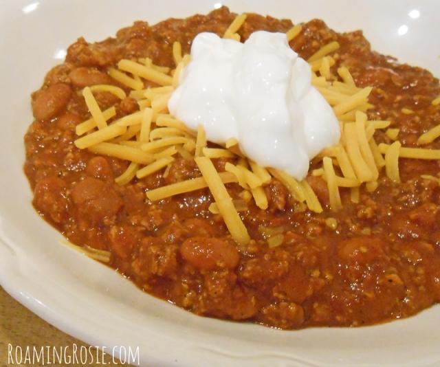4 Ingredient Chili Recipe