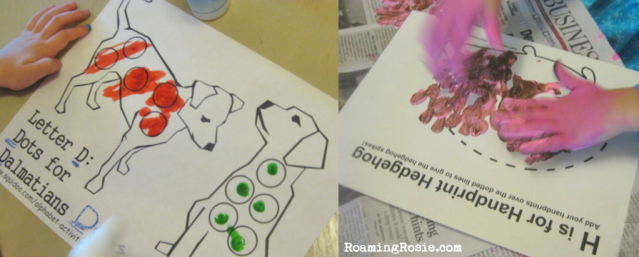 Alphabet Activities A-Z Free Printable Worksheets