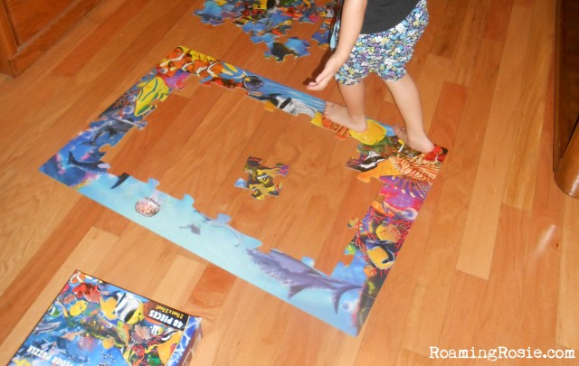 Melissa and dough underwater 48 piece floor puzzle a for Floor kids review