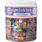 wilton daisy flower sprinkles