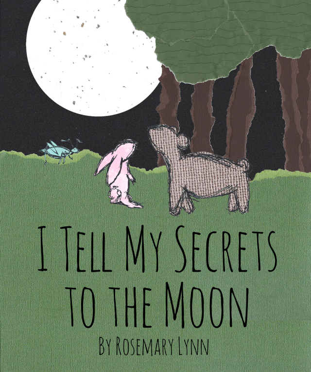 I Tell My Secrets to the Moon by Rosemary Lynn {book review at RoamingRosie.com}