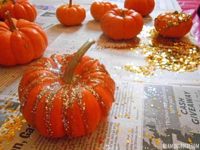 Halloween Mini Pumpkin {Easter Egg} Hunt & Decorating ...