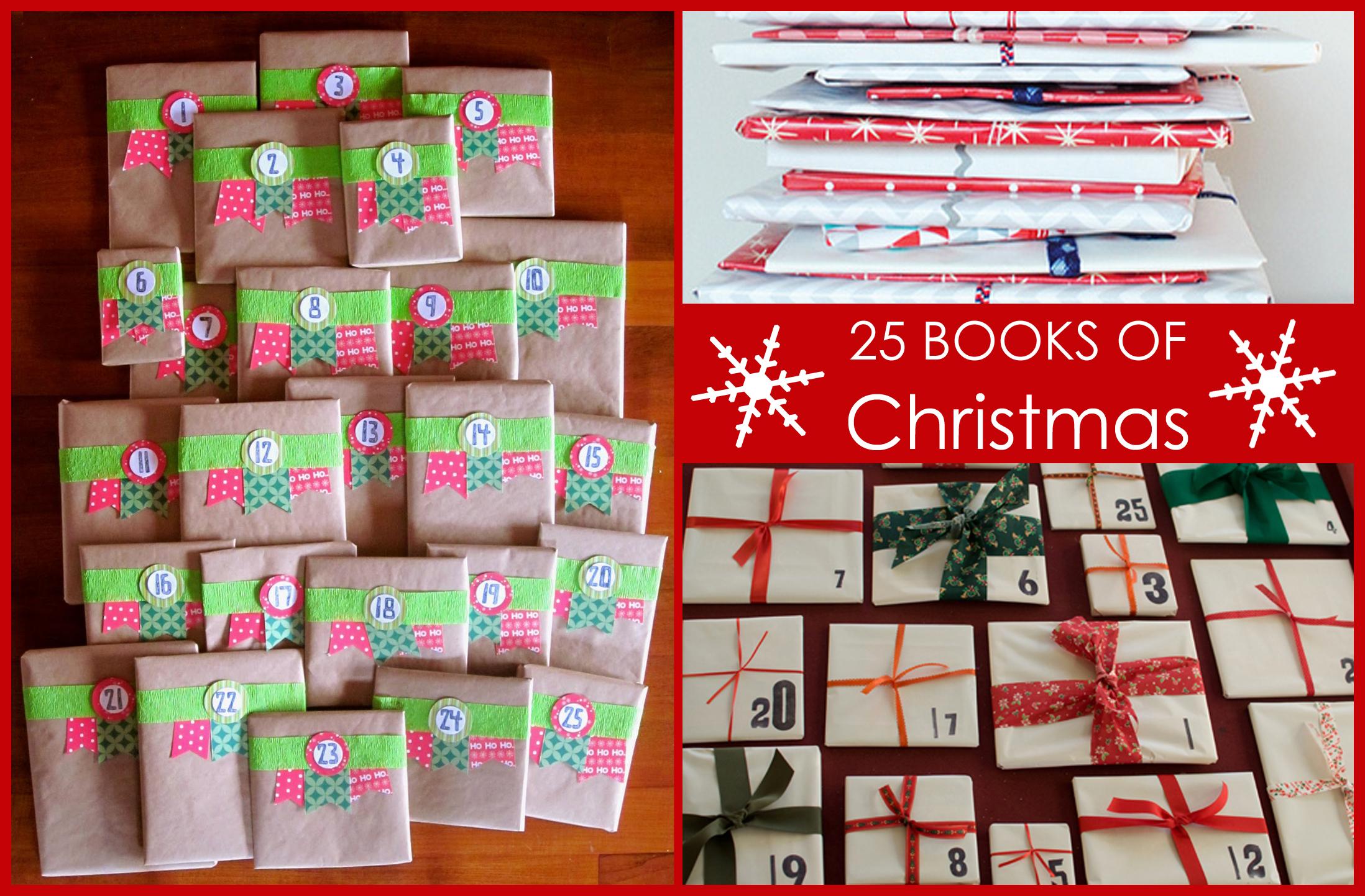 Book Advent Calendar Ideas : Books of christmas roaming rosie