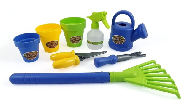 Plastic Gardening Tool Set for Kids