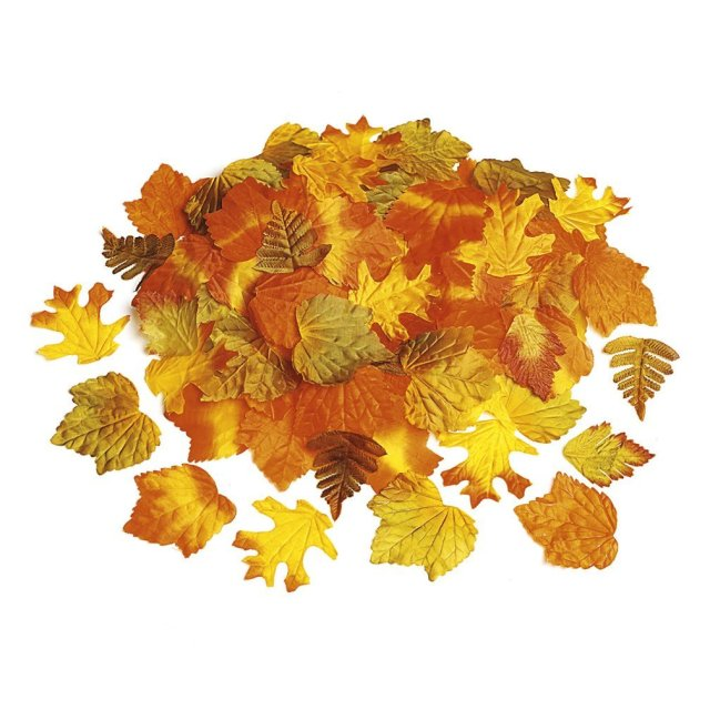 Decorative Fabric Fall Leaves