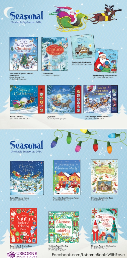 Christmas Usborne Books