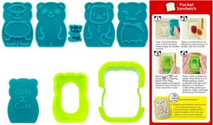 CuteZCute Animal Palz Mini Bento Sandwich Stamping Cutter