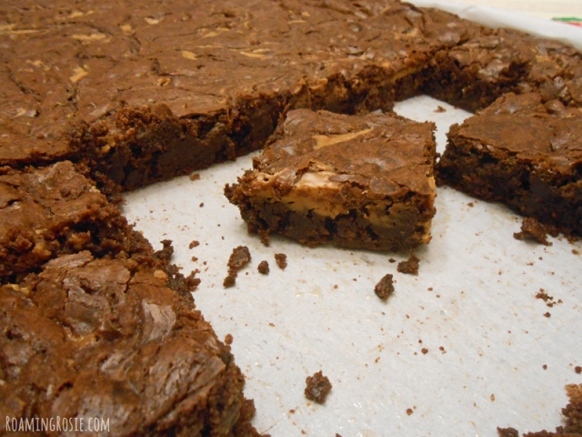 Best Ever Fudgy Peanut Butter Brownies