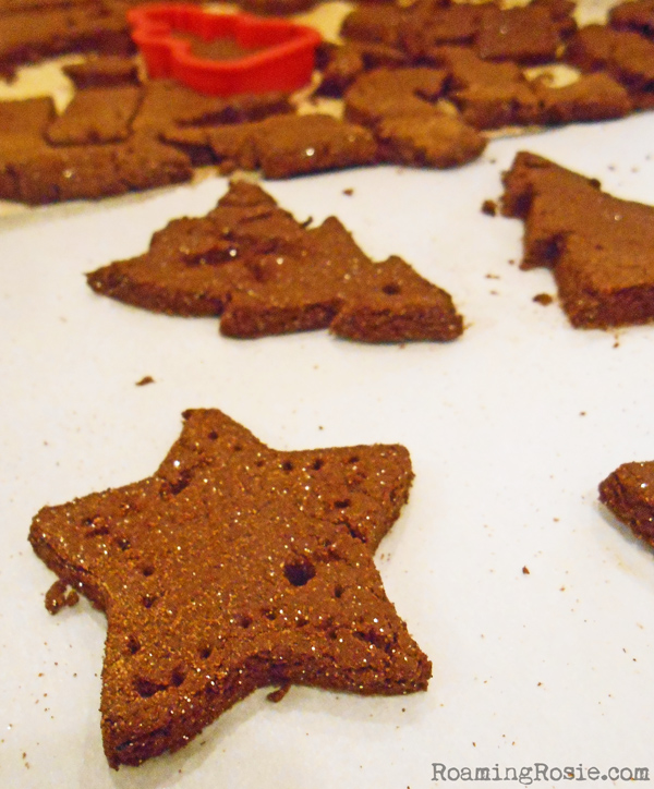 Cinnamon Christmas Ornaments with Glitter