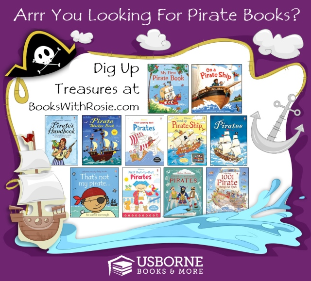 Usborne Pirate Books at BooksWithRosie.com