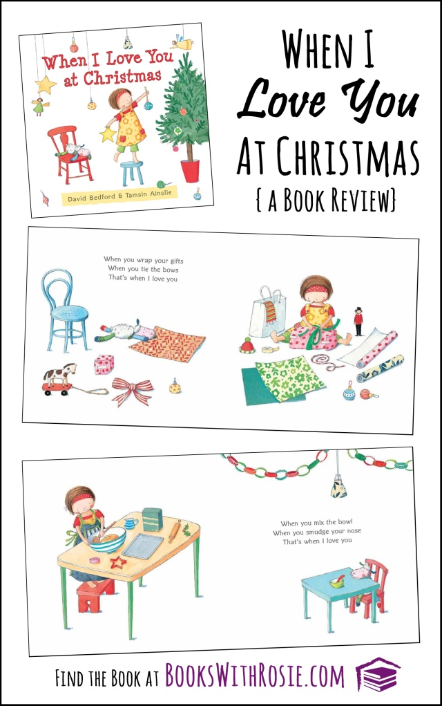 When I Love You At Christmas:  a book review at RoamingRosie.com
