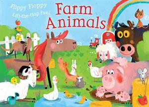 Flippy Floppy Lift-the-Flap Farm Animals