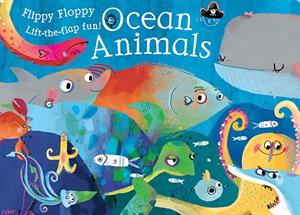 Flippy Floppy Lift-the-Flap Ocean Animals