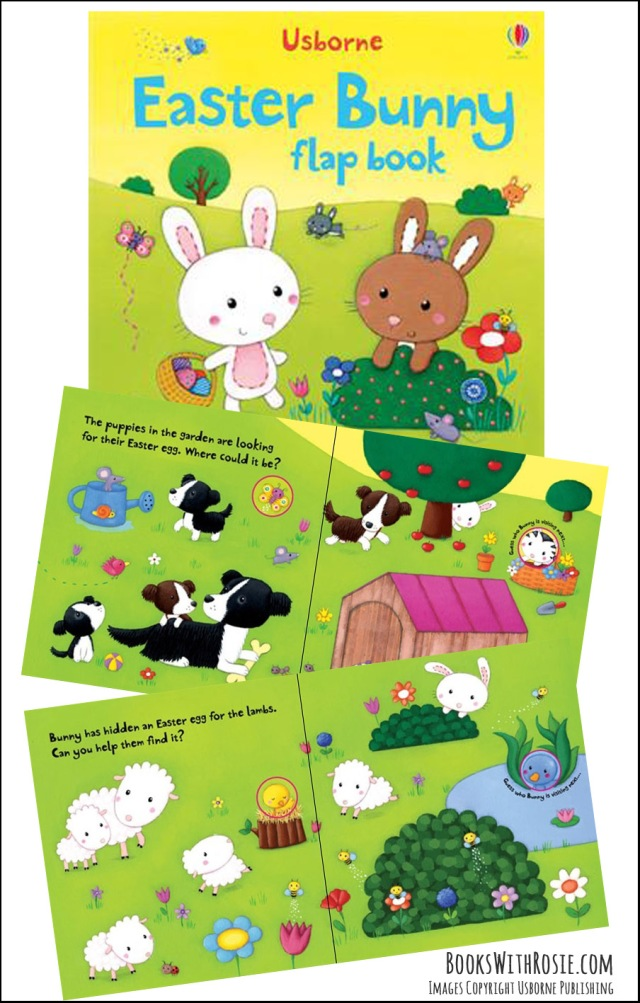 Easter Bunny Lift-a-Flap Board Book