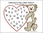 Valentine's Day Letter Search