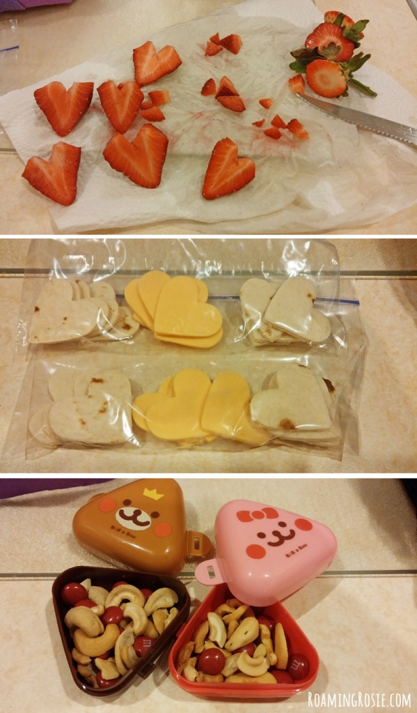 Valentine's Day Lunch Snack Ideas For Kids at RoamingRosie.com