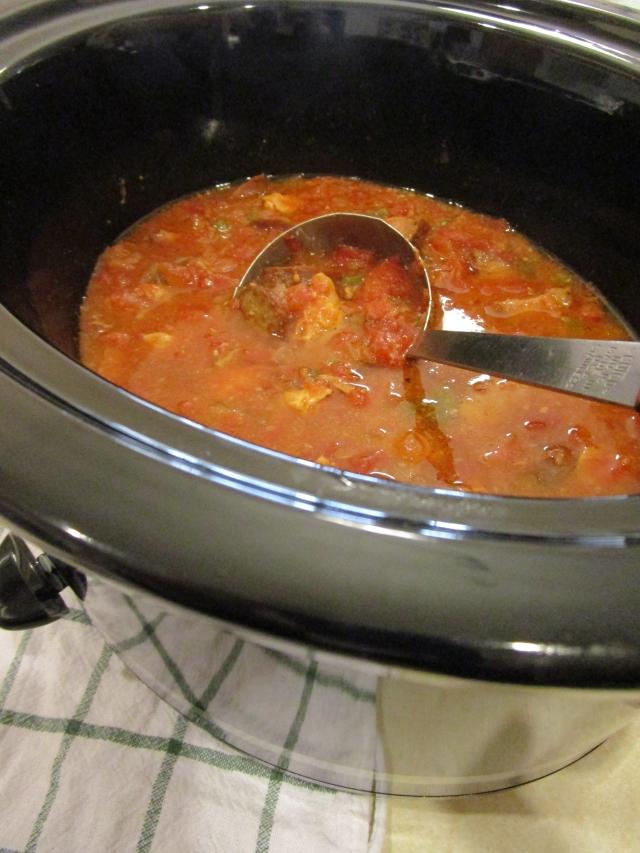 Freezer Crock Pot Jambalaya