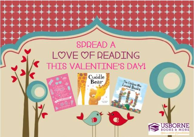 Spread a Love of Reading This Valentine's Day!