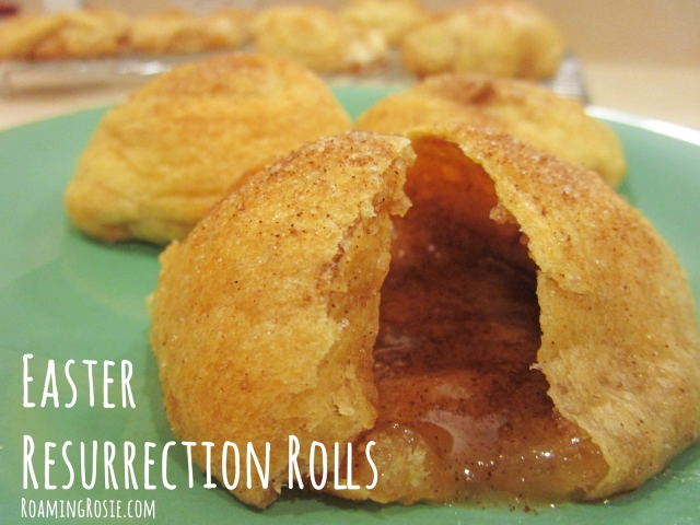 How to Make Easter Resurrection Rolls