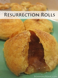 Easter Empty Tomb Resurrection Rolls