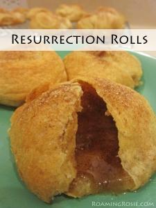 Easter Empty Tomb Resurrection Rolls