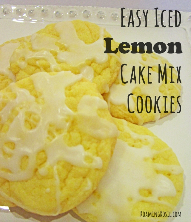 Easy Lemon Cake Mix Cookies Recipe